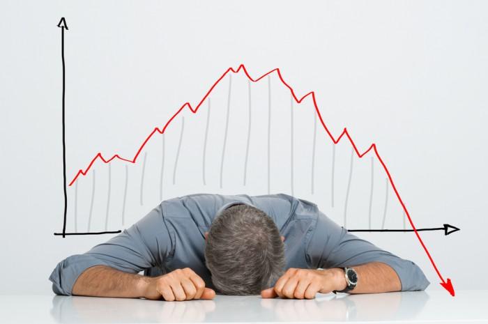 ventas a la baja
