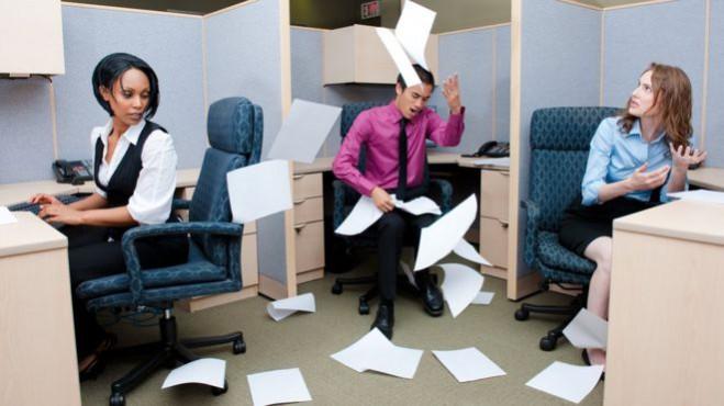 desorden en la empresa